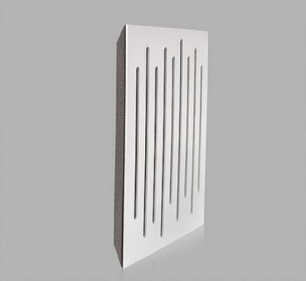 Wood Equalizer White Corner